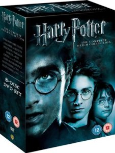 Harry Potter Kompletní kolekce (Kolekce Harry Potter DVD)