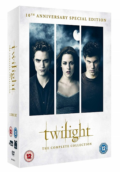 Twilight Sága Speciální Blu-ray kolekce (The Twilight Saga Limited Collection)