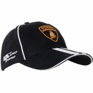 Lamborghini čepice kšiltovka Black (Baseball Cap Lamborghini )