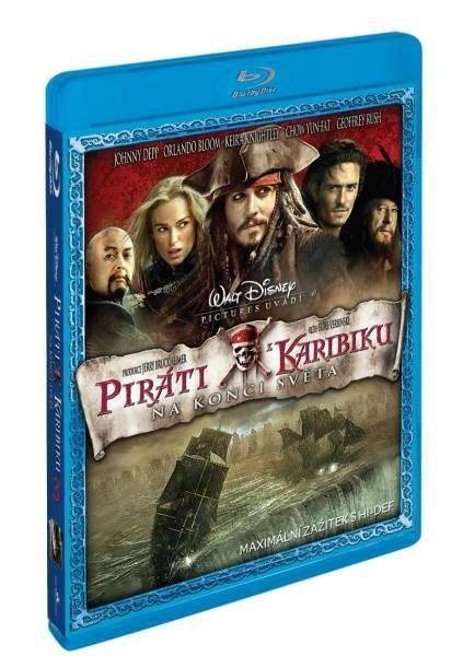 Blu-ray Piráti z Karibiku 3: Na konci světa (Pirates of the Caribbean)