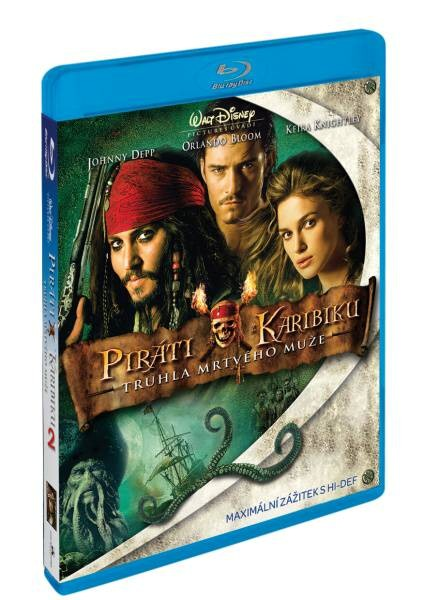 Blu-ray Piráti z Karibiku 2: Truhla mrtvého muže (Pirates of the Caribbean)