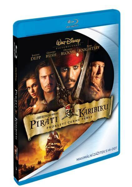 BluRay Piráti z Karibiku: Prokletí Černé perly (Pirates of the Caribbean Blu-Ray)