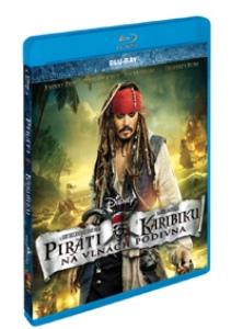 Blu-ray Piráti z Karibiku 4: Na vlnách podivna (Pirates of the Caribbean)
