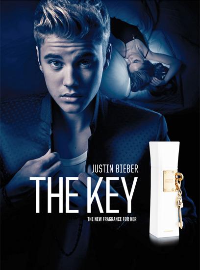 Justin Bieber The Key (Parfémovaná voda Justin Bieber)