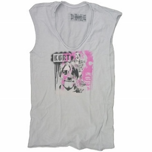 Nirvana dámské tričko Kurt Cobain (Triko Nirvana)