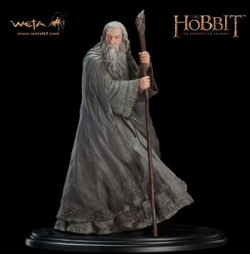 The Hobbit Gandalf The Grey Statue
