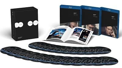 James Bond Speciální kolekce (Bond 007 Bluray edice)