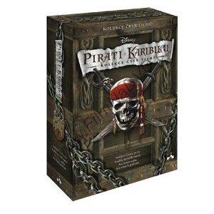 Piráti z Karibiku sběratelská kolekce (DVD) (Pirates of the Caribbean)