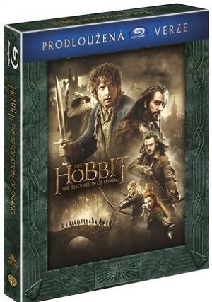 Hobit: Šmakova dračí poušť prodloužená verze BD (The Desolation Of Smaug Extended Blu-ray)
