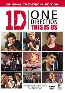 One Direction This Is Us DVD