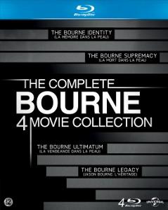 Kompletní Burneova kolekce (Blu-ray) (Bourne)