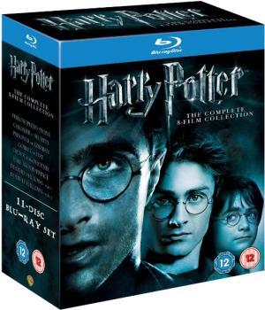 Harry potter kolekce 1-7 BD (Kompletní kolekce Harry Potter Blu-Ray)