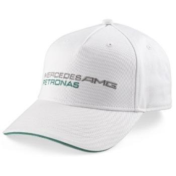 Mercedes AMG Petronas kšiltovka (Bílá čepice s kšiltem značky Mercedes )