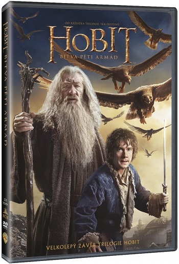 Hobit: Bitva pěti armád DVD (The Hobbit 3 DVD)