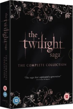 Twilight Sága kompletní DVD kolekce (The Twilight Saga Complete Collection)