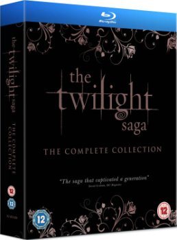 Twilight Sága kompletní Blu-Ray kolekce (The Twilight Saga Complete Collection)