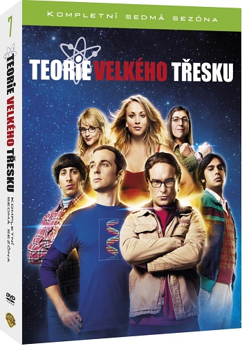 Teorie velkého třesku 7 (DVD The Big Bang Theory 7)