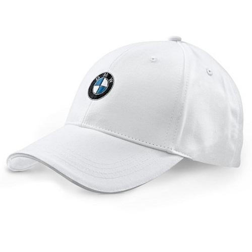 BMW bílá kšiltovka (Baseballová čepice s kšiltem BMW v bílé barvě)