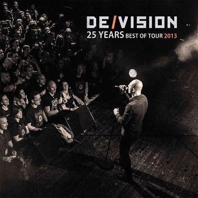 De/Vision 25 Years Best Of Tour 2013 kolekce (DeVision DVD + CD sběratelská kolekce)
