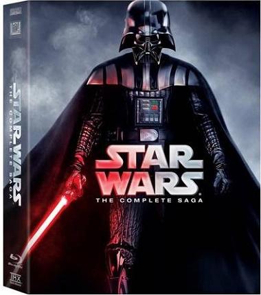 Star Wars Blu-Ray kolekce (Star Kompletní Sága 1-6)