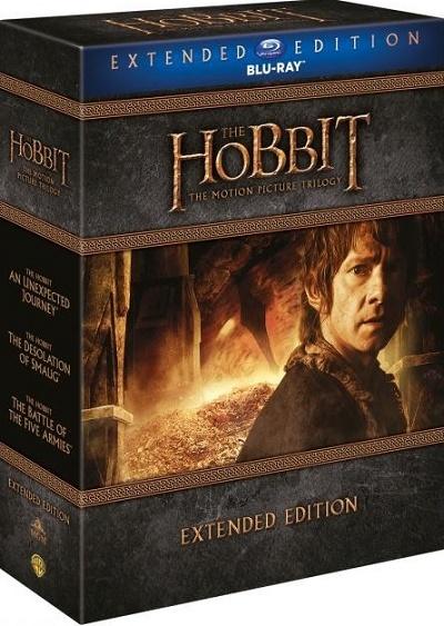 Hobit Speciální kolekce 1-3 BD prodloužená verze (The Hobbit Trilogy Extended Edition)