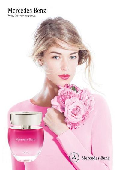 Mercedes Benz Rose dámský parfém (Toaletní voda vůně Mercedes-Benz)