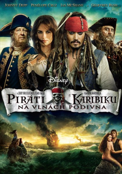 Piráti z Karibiku 4 Na Vlnách Podivna (DVD) (Pirates of the Caribbean)