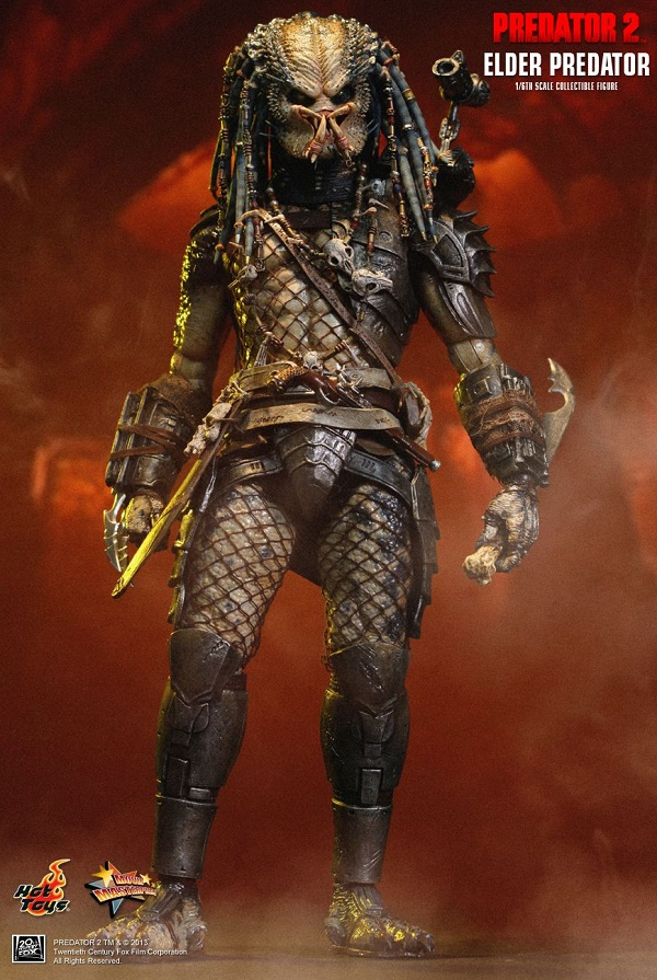 Elder Predator (Predator 2 Action figures)