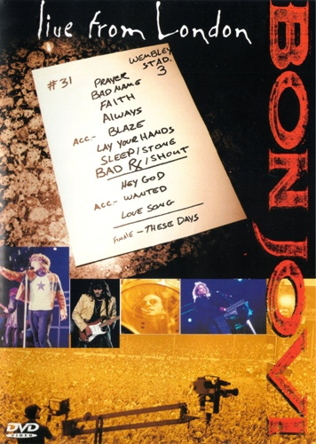 Bon Jovi Live From London (DVD Bon Jovi)