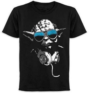 Triko Star Wars DJ Yoda (Tričko Yoda Star Wars)