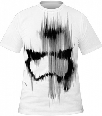 Star Wars tričko Stormtrooper detail (Originální triko Star Wars)
