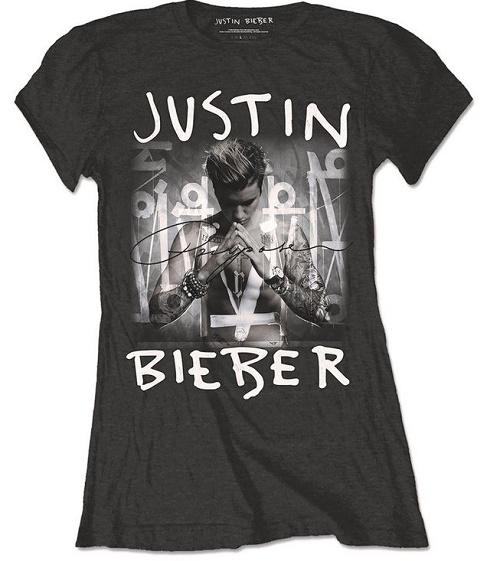 Justin Bieber tričko 2016 (Originální triko Justin Bieber Limited Edition)
