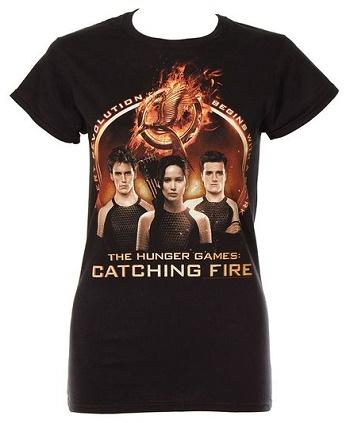 Tričko Hunger Games (Originální triko Hunger Games)