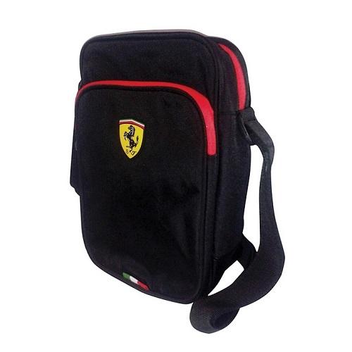 Ferrari brašnička přes rameno (Taška přes rameno v černé barvě značky Ferrari)