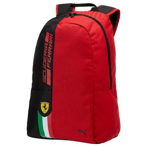 Ferrari batoh červený Puma (PUMA batoh v červené barvě značky Ferrari)
