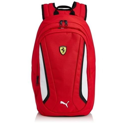 Ferrari červený batoh Puma (Puma luxusní červená taška značky Ferrari)