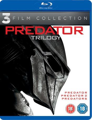 Predator Trilogy Blu-ray (BluRay Predator Trilogy)