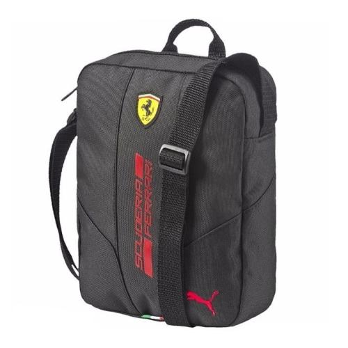 Ferrari brašnička přes rameno Puma (Puma taška přes rameno v černé barvě Ferrari)