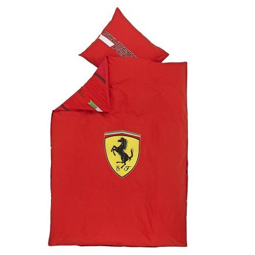 Ferrari povlečení (Značkové povlečení v červené barvě značky Ferrari)