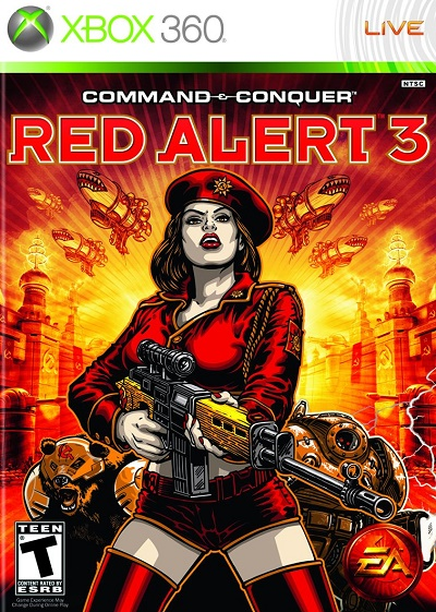 Red Alert 3 XBOX 360 (Xbox 360 hra Command & Conquer Red Alert 3)