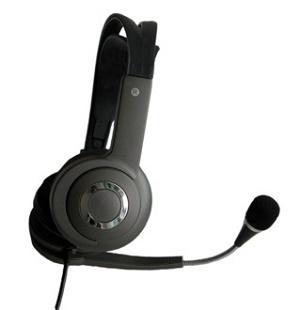 Sluchátka s mikrofonem (Levná Audio stereo sluchátka)