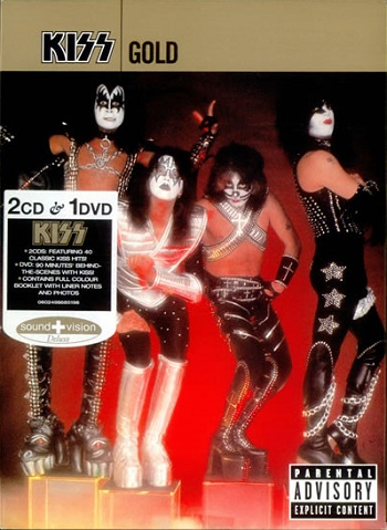 KISS GOLD Limited Edition (DVD Kiss)