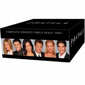 Přátelé kompletní kolekce (Friends DVD Collection)