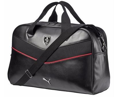 Luxusní cestovní taška Ferrari (Ferrari originální sportovní taška)
