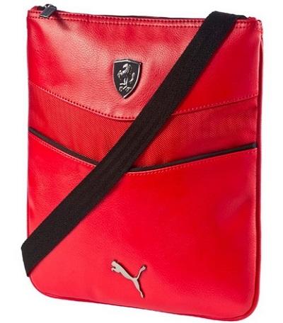 Brašna Ferrari červená (Originální taška Ferrari přes rameno)