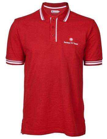 Triko Alfa Romeo F1 (Alfa Romeo tričko v červené barvě)