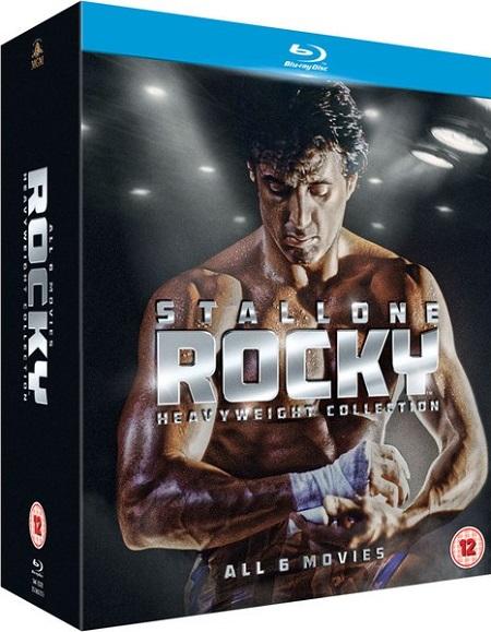 Rocky kolekce Sylvester Stallone (Blu-Ray Kompletní kolekce Rocky)