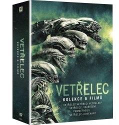 Vetřelec Alien DVD KOLEKCE (DVD Kolekce Vetřelec Alien)