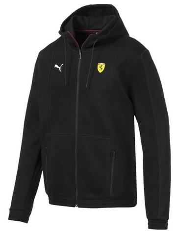 Mikina Ferrari s kapucí (Luxusní bunda s kapucí Ferrari)