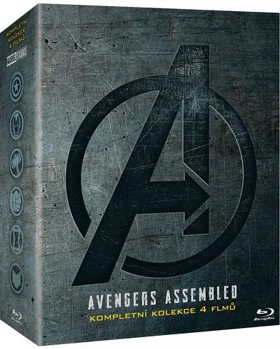 Avengers Kompletní Blu-ray kolekce (Blu-ray kolekce Avengers)